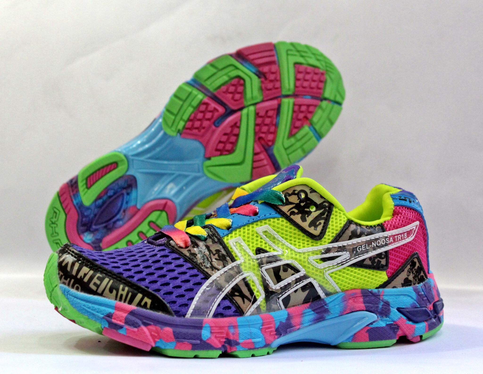 Sepatu Lari Asics Gell Noosa TR18 Woman Purple (sport 8090a84f3e