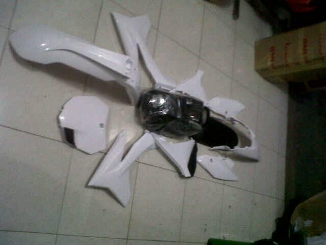 Cover body set KTM pnp klx
