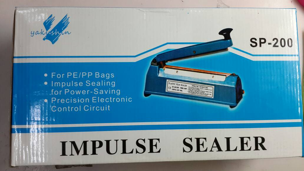 Mini Handy Sealer Alat Perekat Plastik Mudah murah. Source · impulse sealer mesin klem lem
