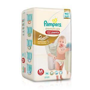 harga Pampers premium care pants M46 Tokopedia.com