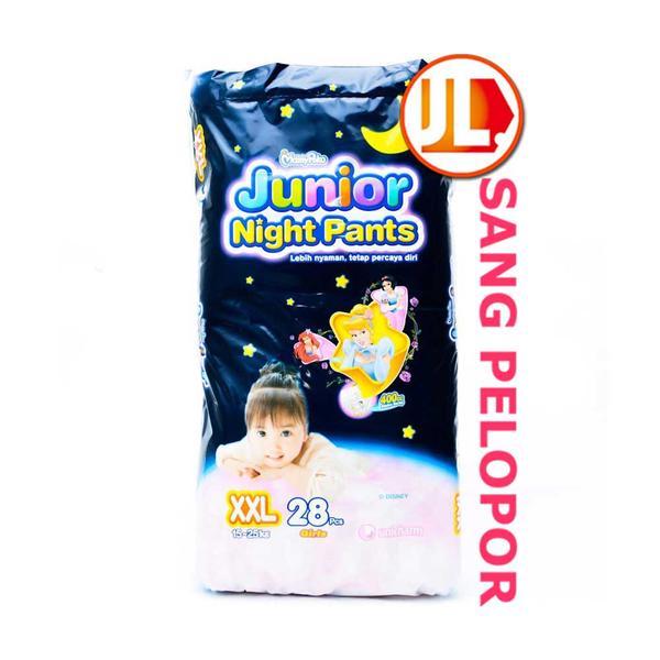 harga MamyPoko Junior Night Pants, Size XXL, 28pcs, Girls Tokopedia.com