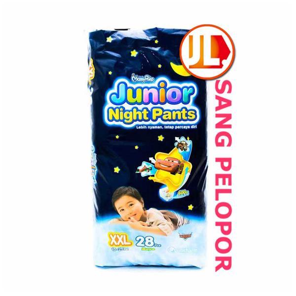 harga MamyPoko Junior Night Pants, Size XXL, 28pcs, Boys Tokopedia.com