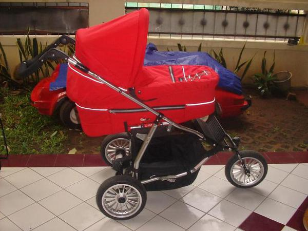 harga Stroller dan carry cot bayi  Emmaljunga Pram (Sweden) Tokopedia.com