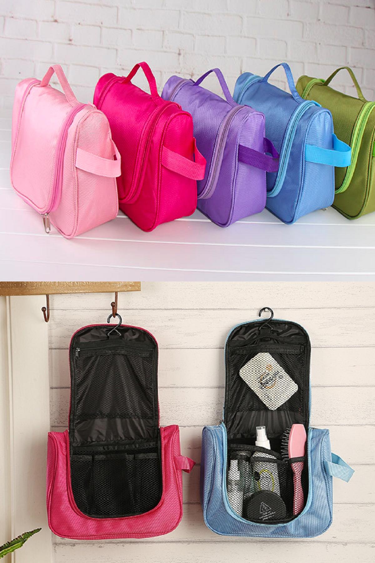 ... Tas Peralatan Mandi Kosmetik Toilet Organizer Bag Travel Mate Jual Korean Toiletries Perlengkapan Ceria Smart Tokopedia