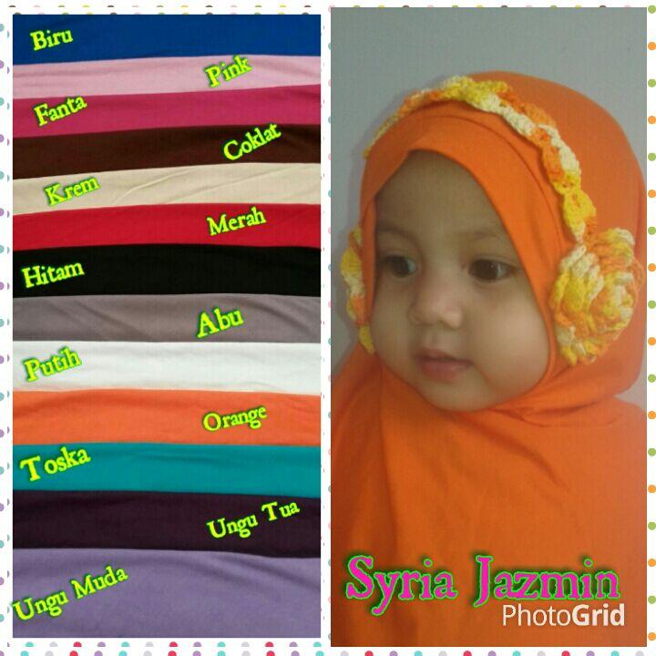Jual Handmade Hijab Anak Syiria Jazmin