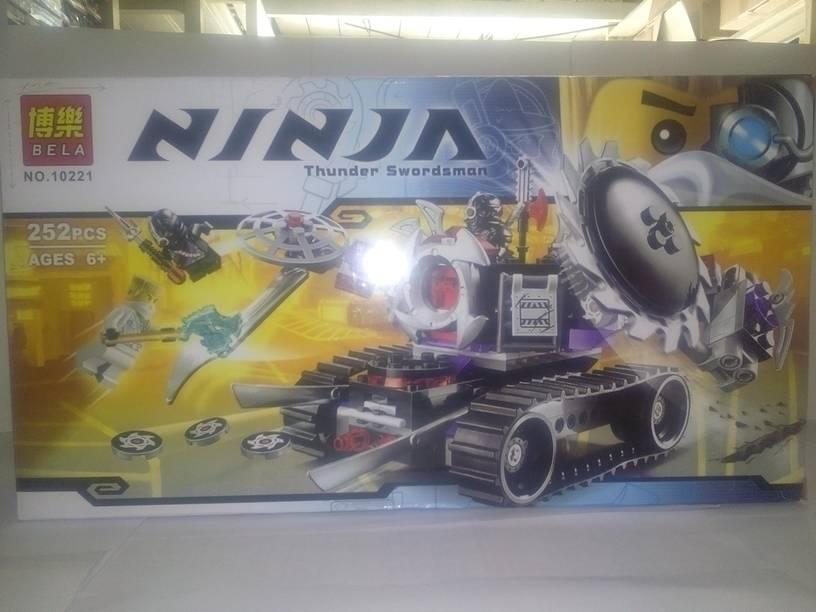 harga Lego Ninjago White Tank (252 pcs) No. 10221 produksi BELA China Tokopedia.com