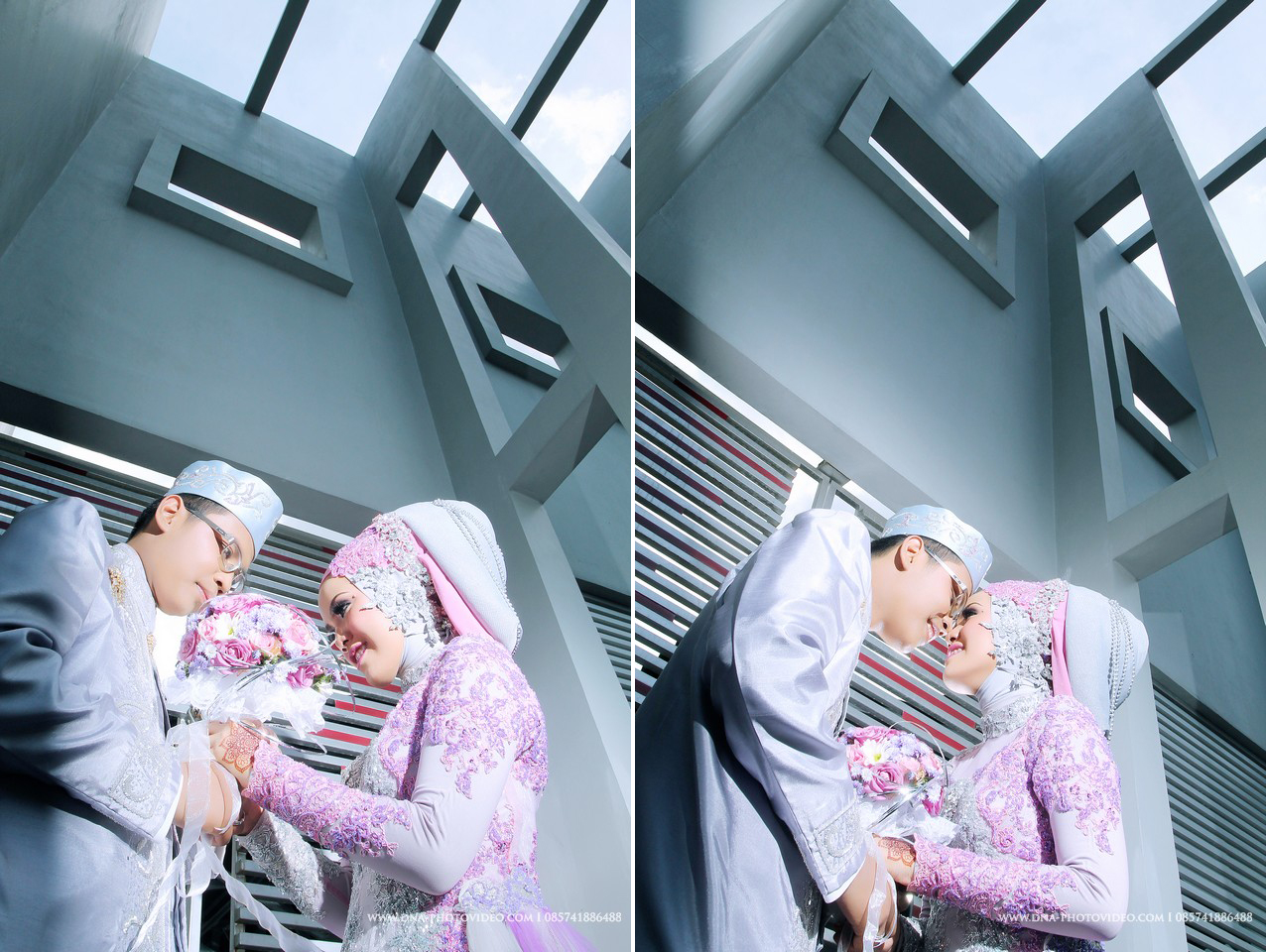 harga Jasa Fotografer Pernikahan Kebaya Ungu Silver Gedung LPP Jogjakarta Tokopedia.com