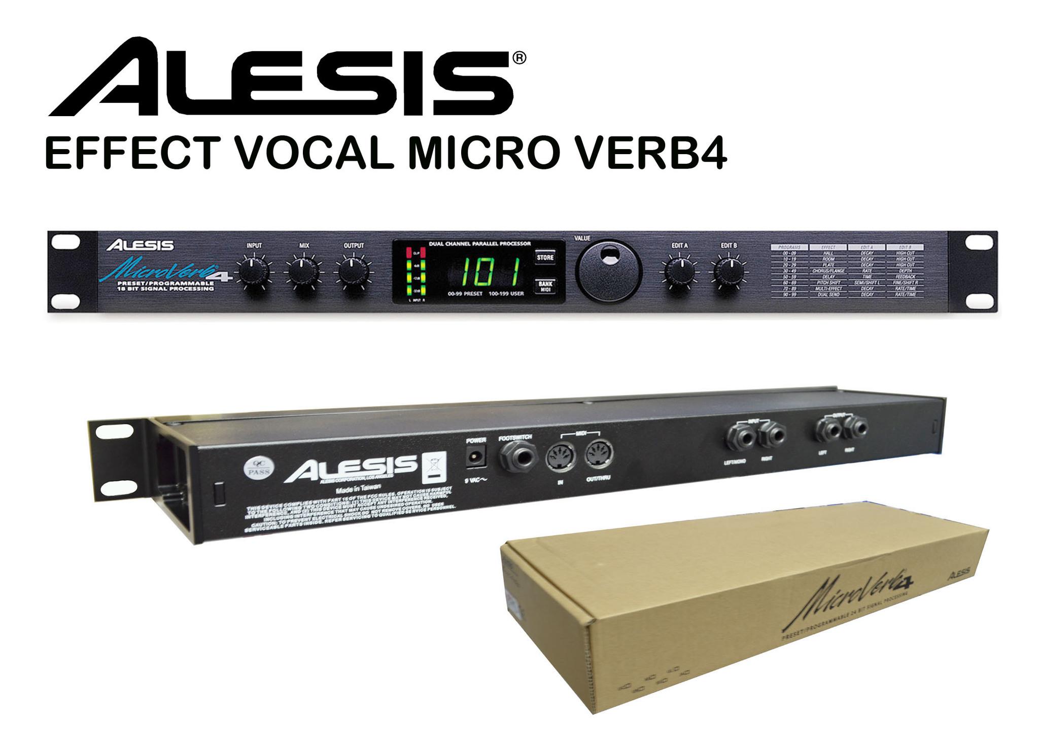 harga Effect Vocal Alesis Micro Verb4 Tokopedia.com