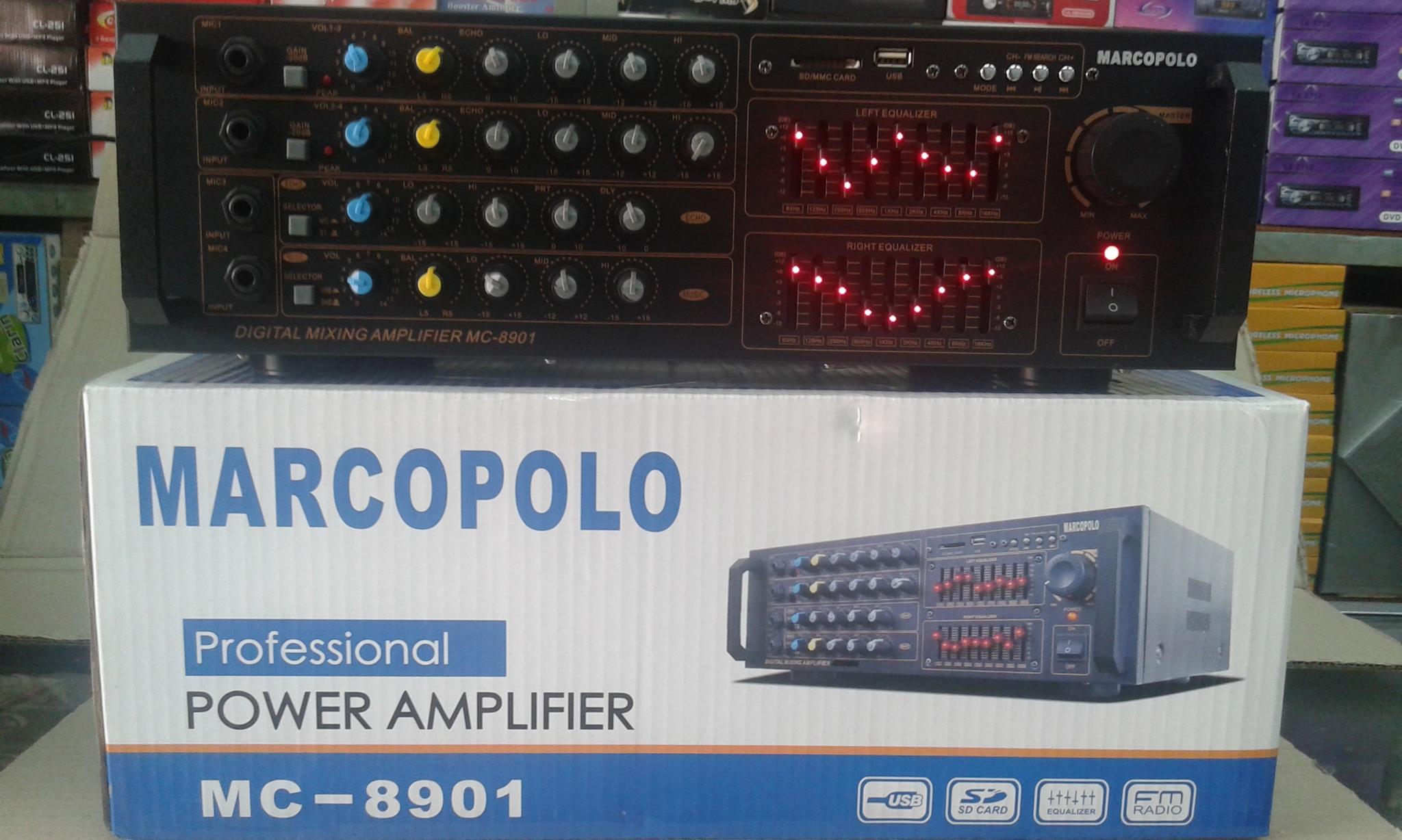 harga Ampli Mixer Marcopolo MC-8901 Tokopedia.com