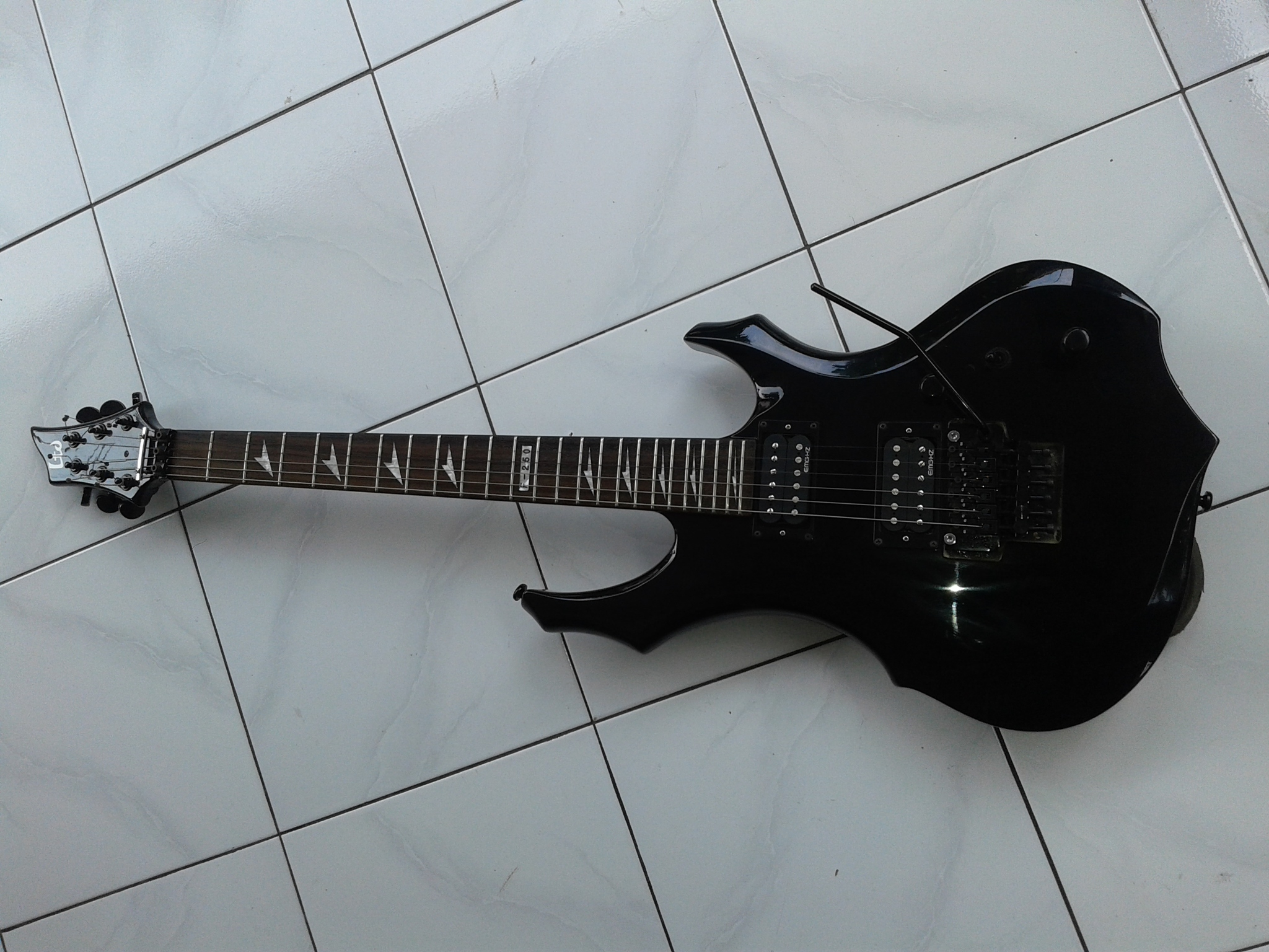 harga Guitar electric LTD ESP F-250 Korea Tokopedia.com