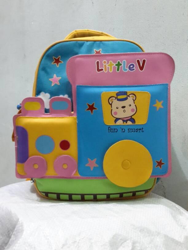 harga Tas Ransel Anak Karakter Kereta Api - Little V 43111 Tokopedia.com