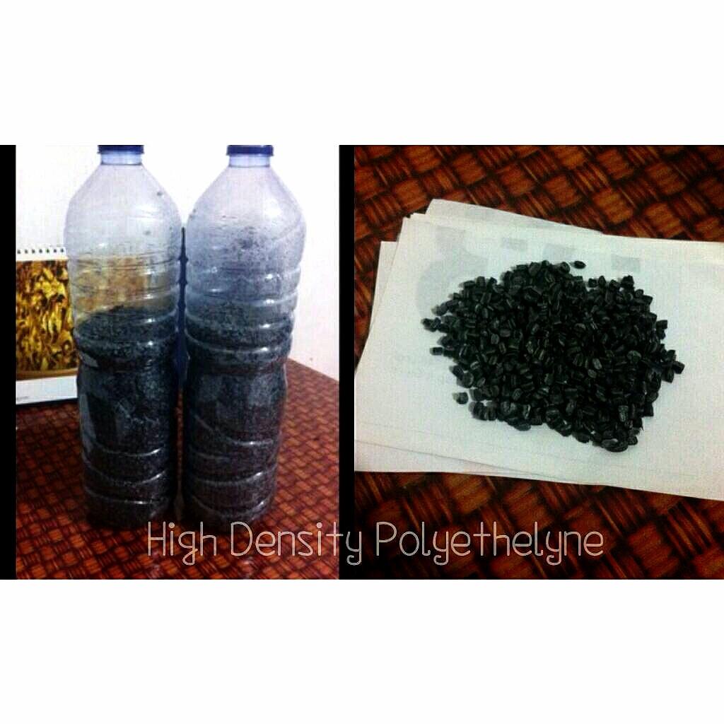 Biji Plastik HDPE warna hitam