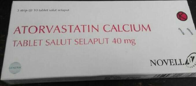 harga atorvastatin 40 mg Novell Tokopedia.com