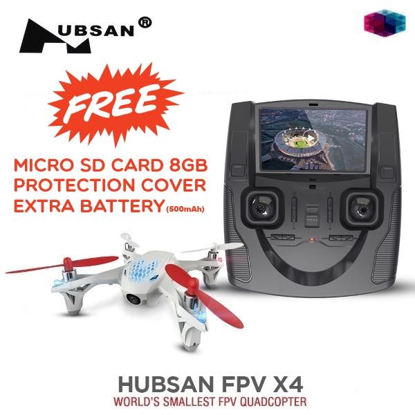 Hubsan X4 - H107D FPV 4CH RC Quadcopter