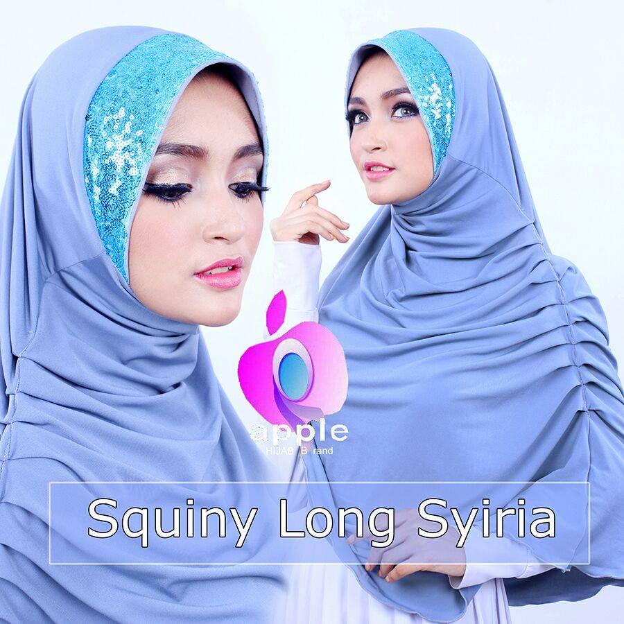SQUINY LONG SYIRIA by Apple Hijab