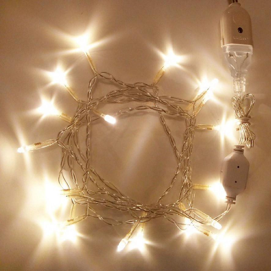 Jual String Lights : Jual Lampu LED - String Light - Fairy Light - Lampu Hias - Lampu Natal 2,5m - Cotton Light Craft ...