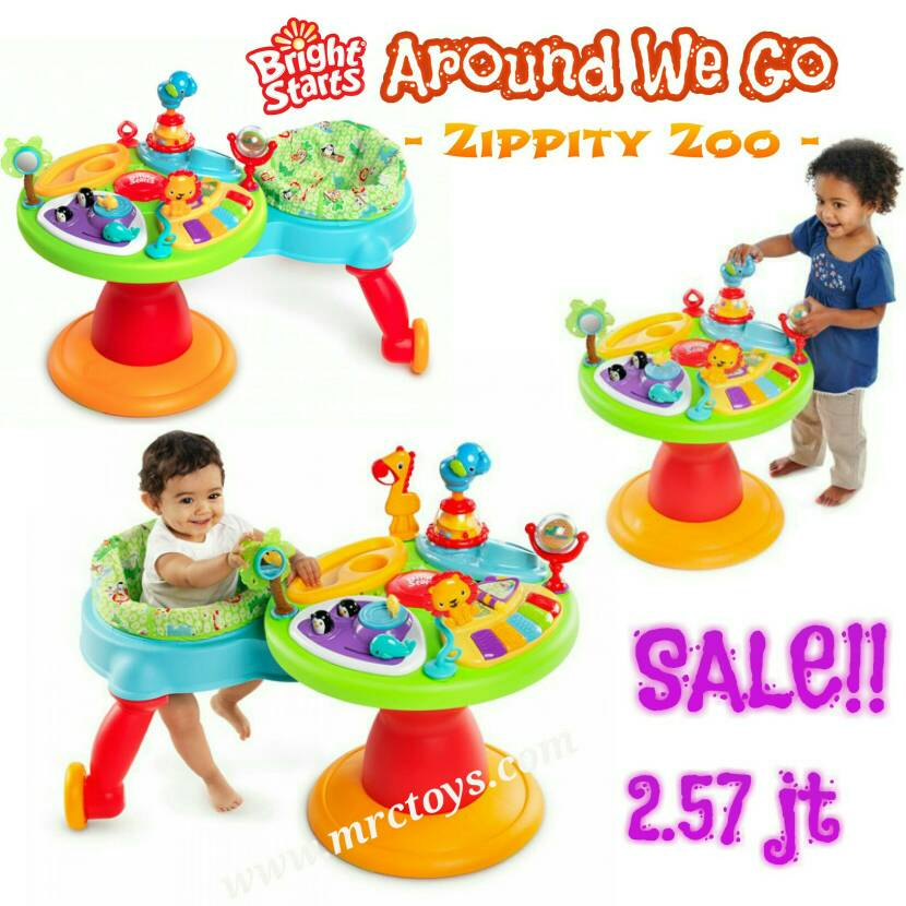 "harga Bright starts - Around We Go ""Zippity Zoo"" Tokopedia.com"