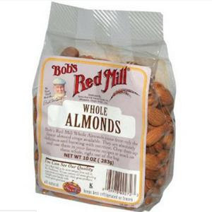 harga Bobs Red Mill Almond Whole  Kacang Almond Utuh  Kualitas Nomer Wahid Tokopedia.com