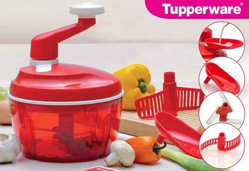 harga Tupperware Quick Chef - Merah (Promo Habis/Harga Normal Rp 650 rb) Tokopedia.com
