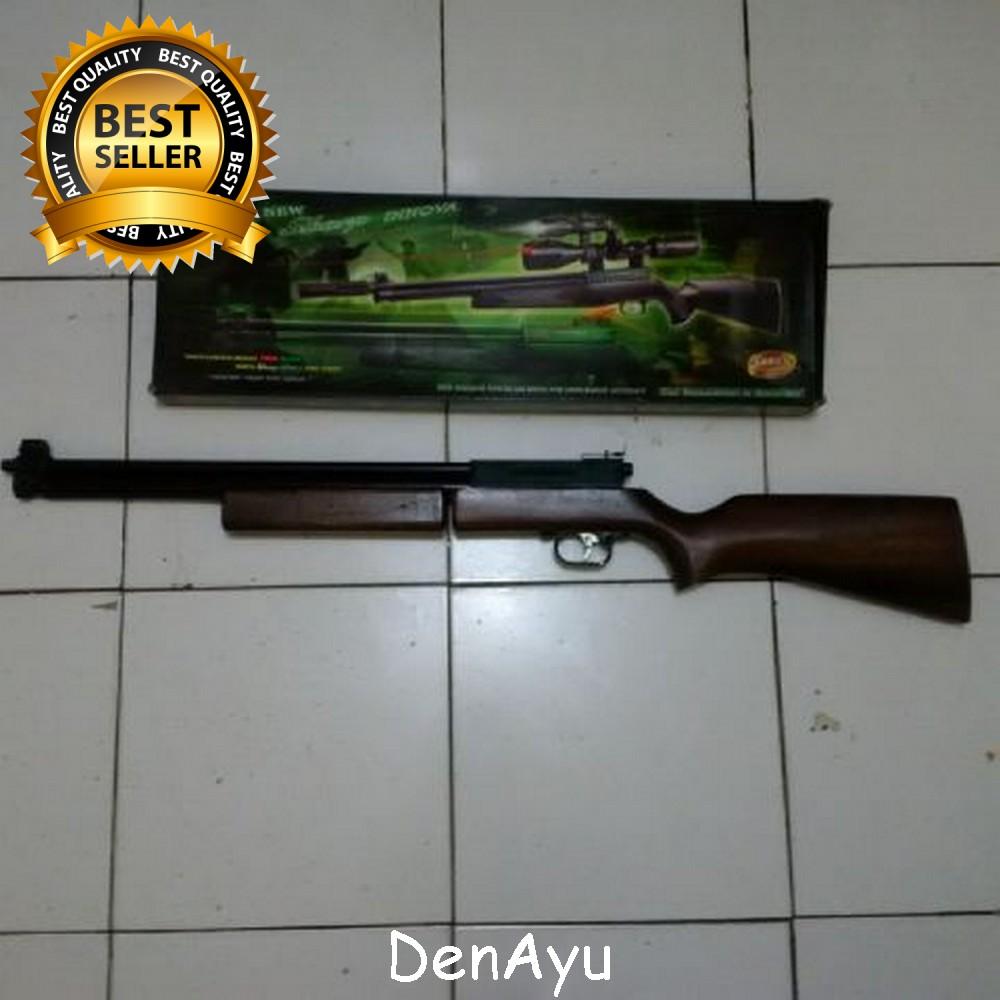 harga SENAPAN  ANGIN SHARP INNOVA  SHORT POPOR KAYU  CAL 4,5mm Tokopedia.com