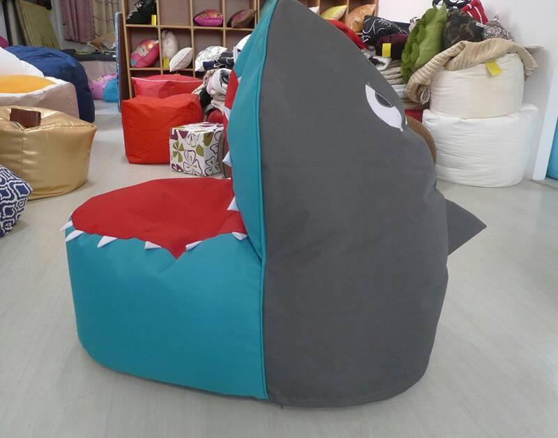 Jual Shark Bean Bag Bentuk Mulut Hiu