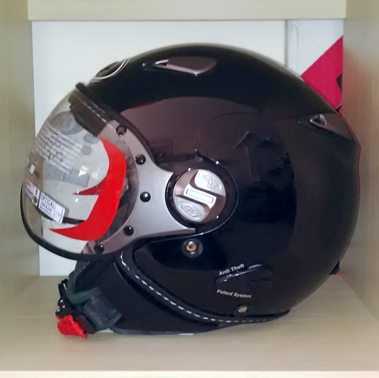 Jual Helm KYT Elsico Retro Solid