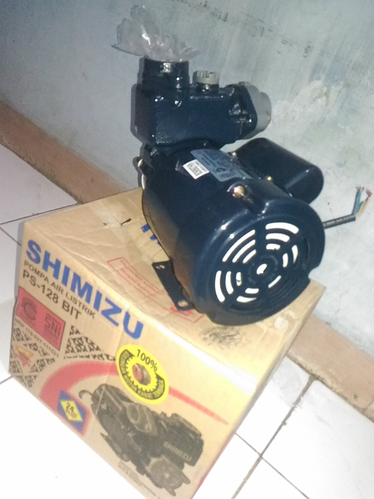 Jual Pompa Air Listrik Shimizu PS 128 BIT - Erik Roda Jaya ...
