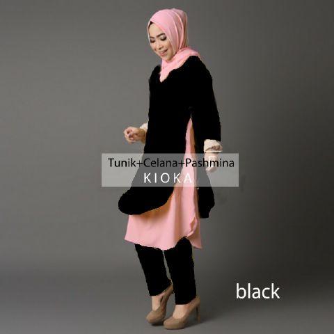 Setelan hijab jogger