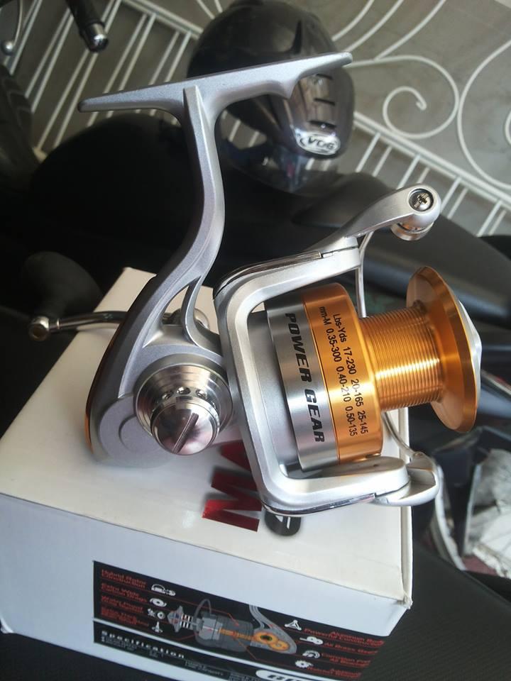 Jual Metal Body Spining Reel Maguro Piston 6000