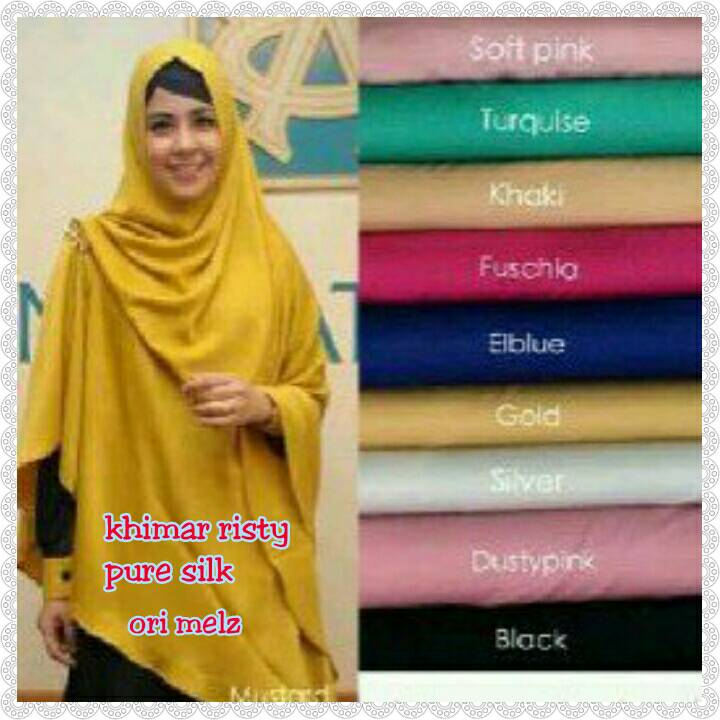 Hijab Khimar Risty Pure Silk