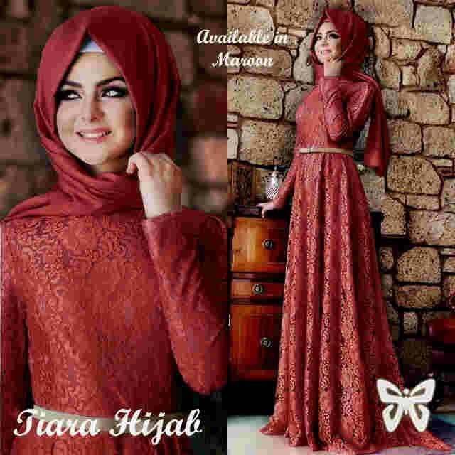 Tiara Hijab Merah