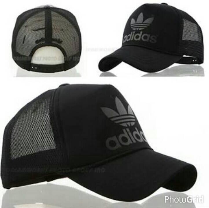 ... closeout where to buy jual topi cap hat trucker adidas 2.3 black nrc23  tokopedia 1c5e6 450bf 1fd9cbb252