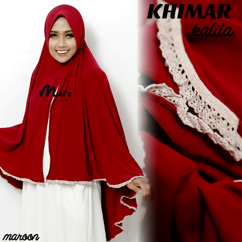Khimar KHALILA by Melz Hijab