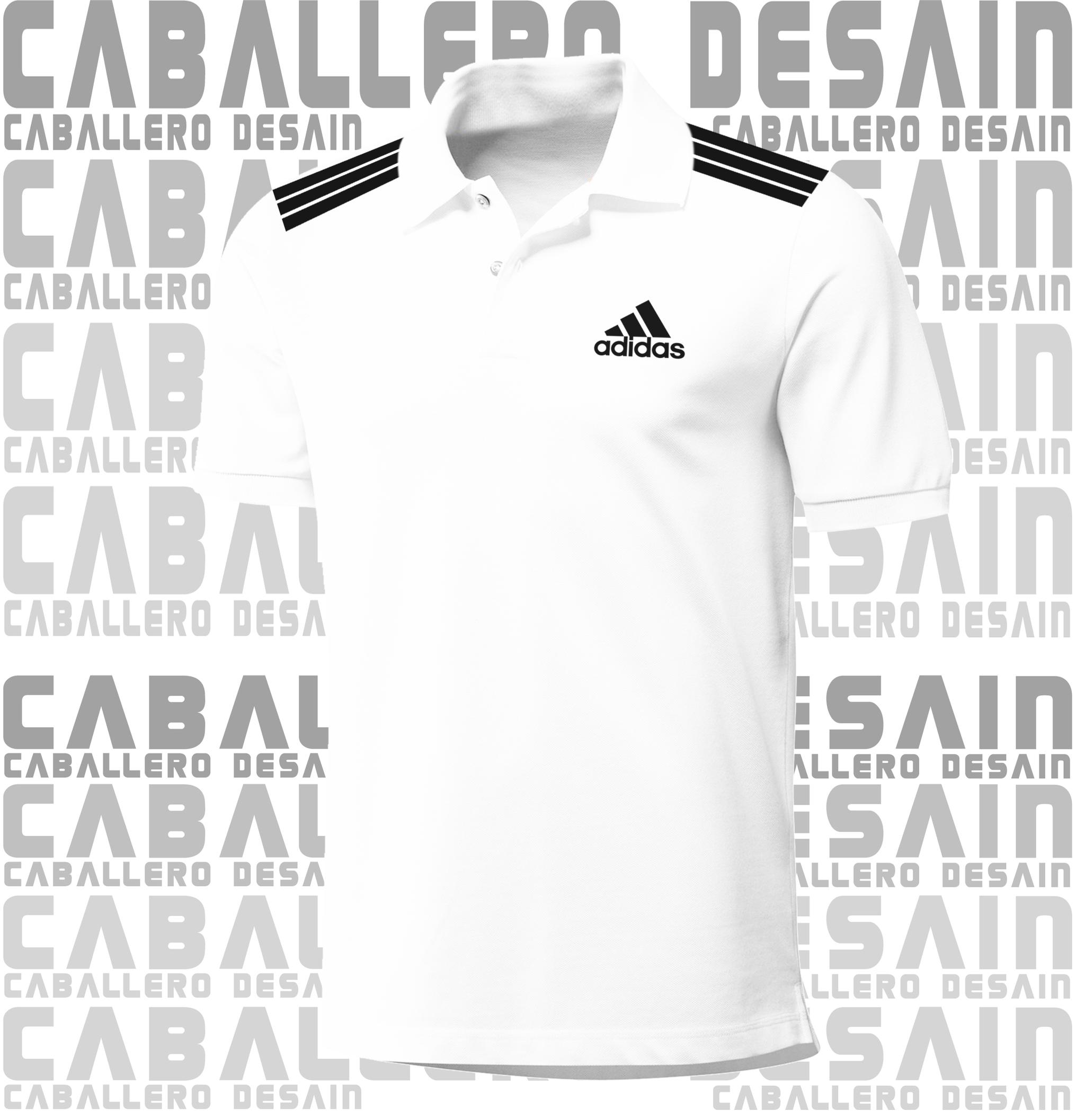 Desain t shirt kerah - Kaos Polo Kaos Kerah Polo Shirt Kaos Adidas Strip Pundak