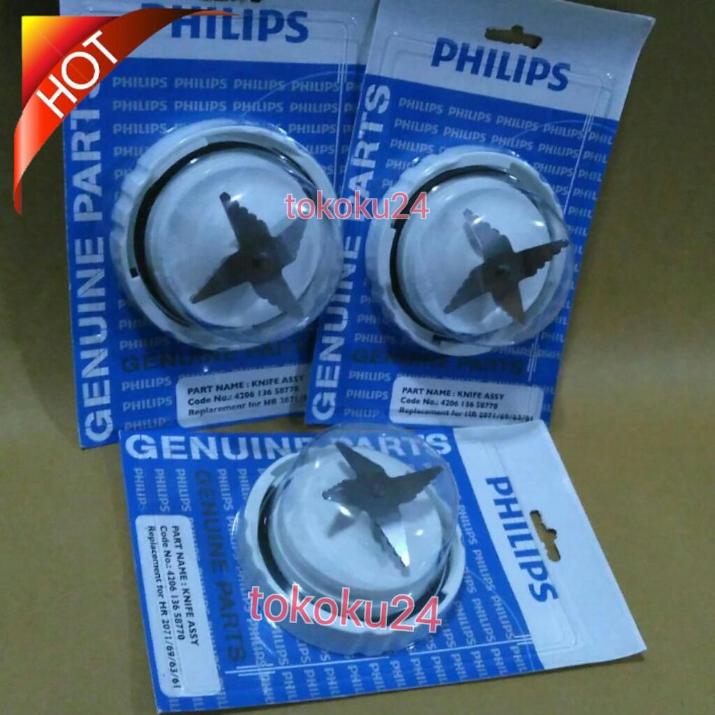 Jual Sparepart Segel Dus Genuine Pisau Gelas Besar Blender Philips Hr 2116 Tokoku24 Tokopedia