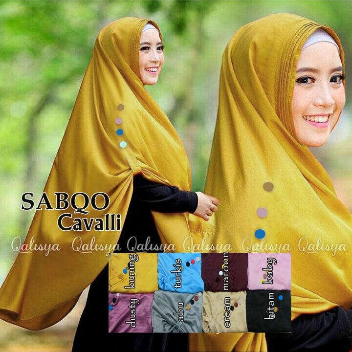 pashmina hijab kerudung bergo jilbab Khimar Sabqo Cavalli