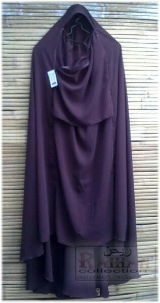 Hijab Rits Safar non Purdah