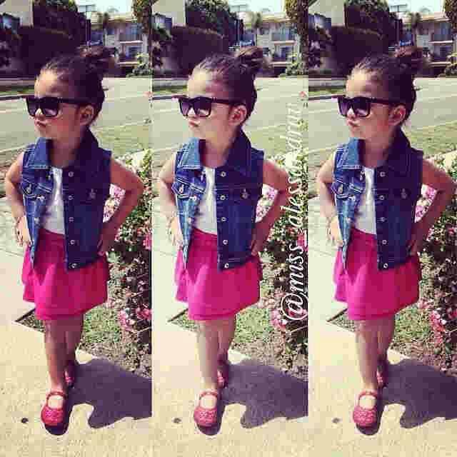 [livita kid VL] pakaian anak perempuan dress+vest