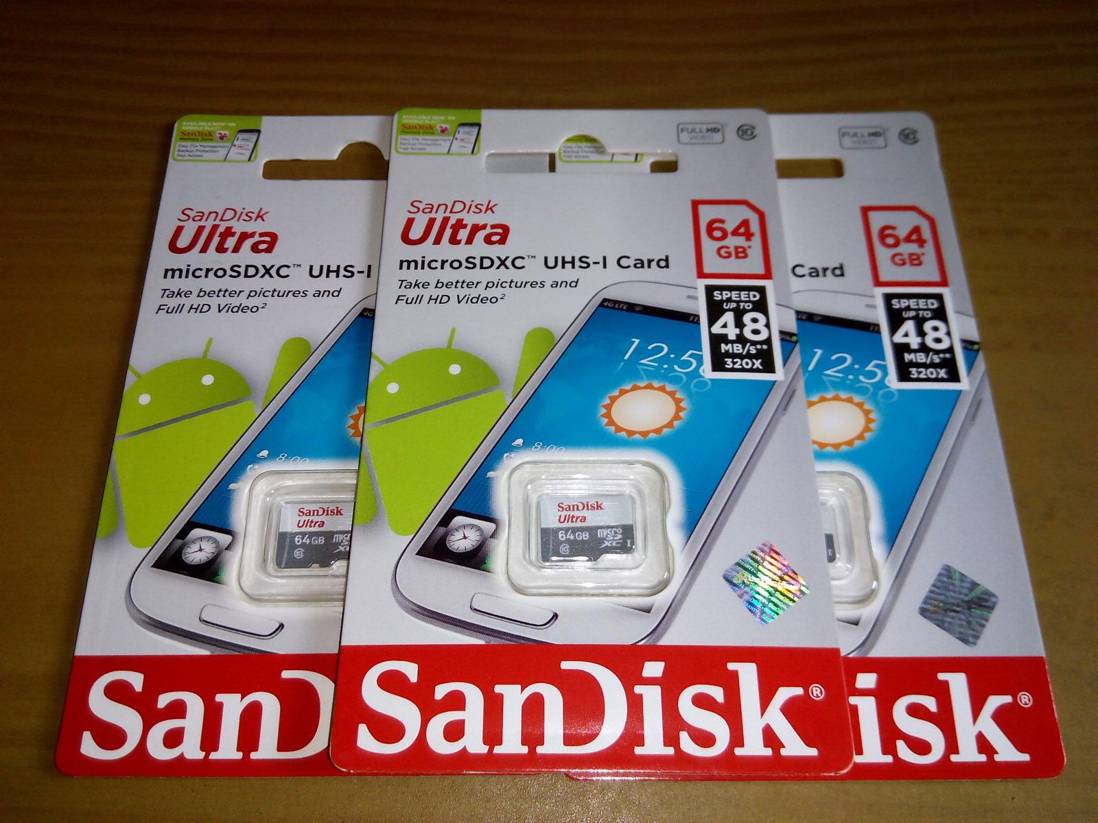 Jual MicroSD Sandisk ULTRA 64GB Class 10 Non Adapter Speed