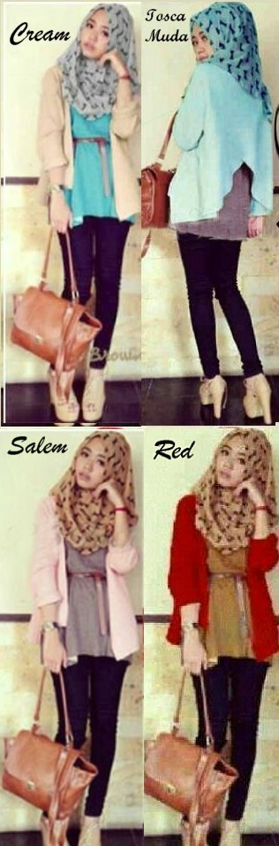 New Hijab Talitha Set 5in1