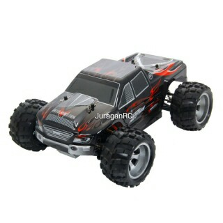 RC Car Wltoys Vortex A979 1/18 2.4GHz 4WD Monster Truck RTR - Black