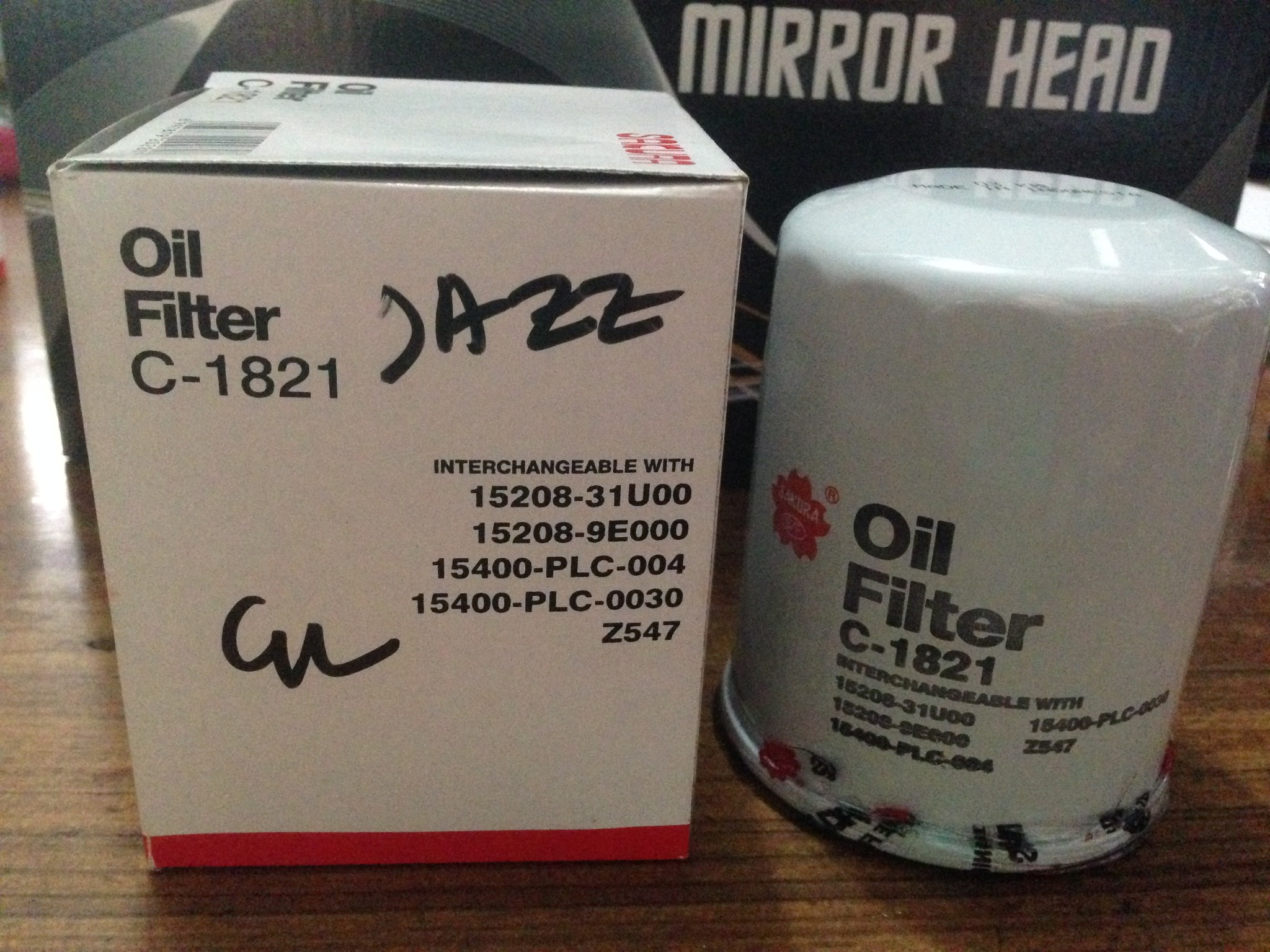 Filter Oli Jazz Sakura
