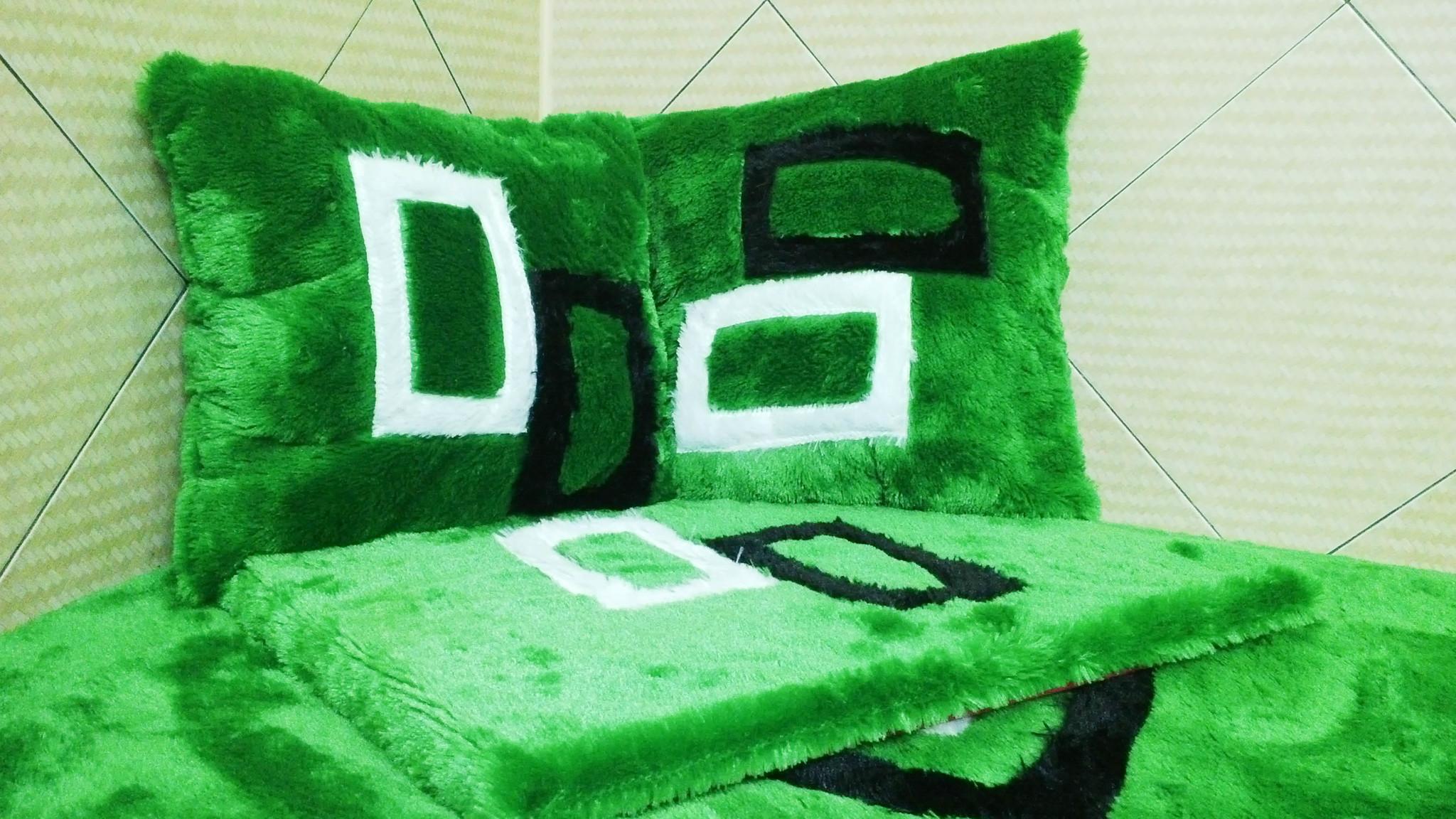 Jual karpet bulu green square minimalis silvya grosir