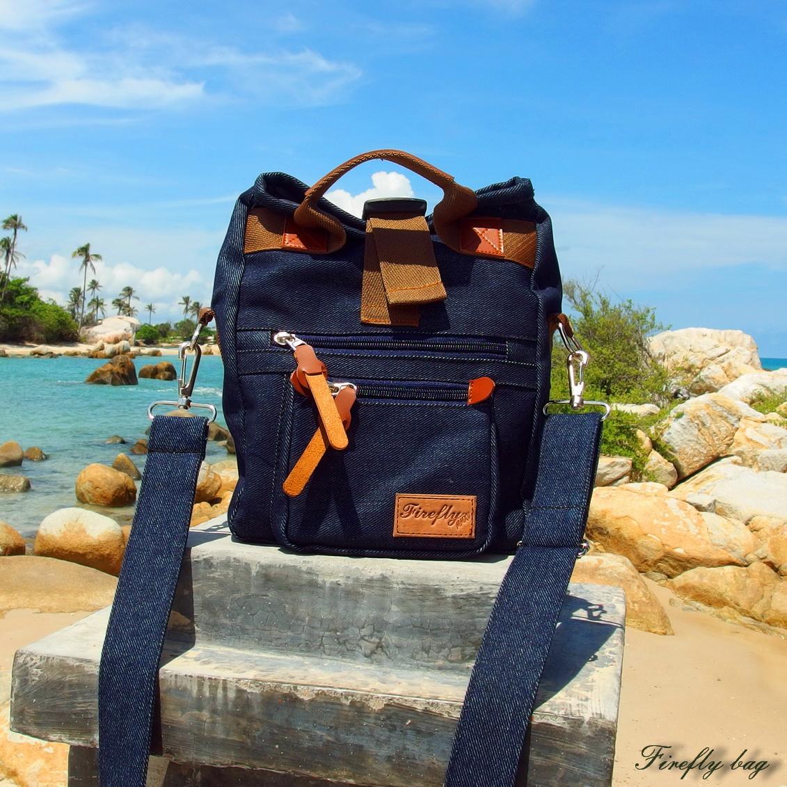 Sling bag tokopedia -  Firefly Foxray Navy Sling Bag