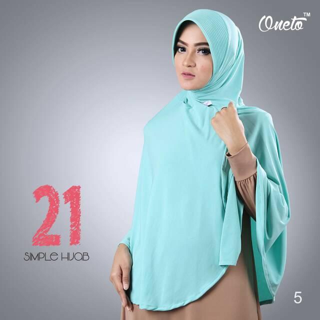Jilbab Oneto Simple Hijab 21 (Dua Puluh Satu)