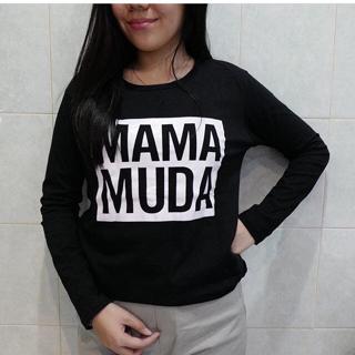 kaos hijab (hijabers) lengan panjang / tumblr tee / Mama Muda