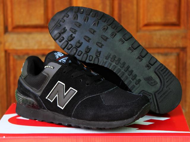 Jual Sepatu Sekolah New Balance 574 Anak Hitam Anak
