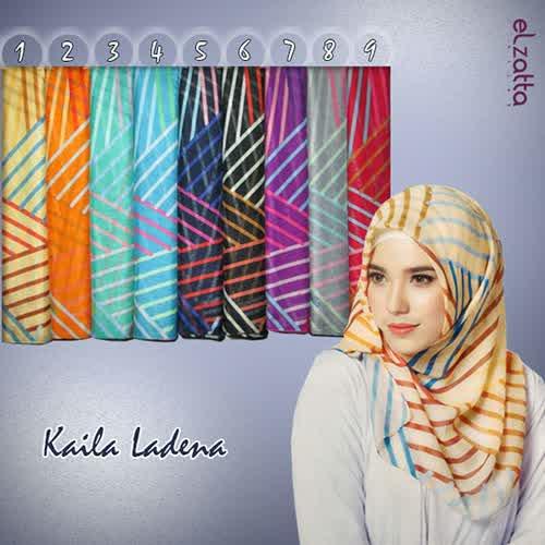 Kerudung/Hijab/Jilbab Segi Empat Elzatta Murah Kaila Ladena
