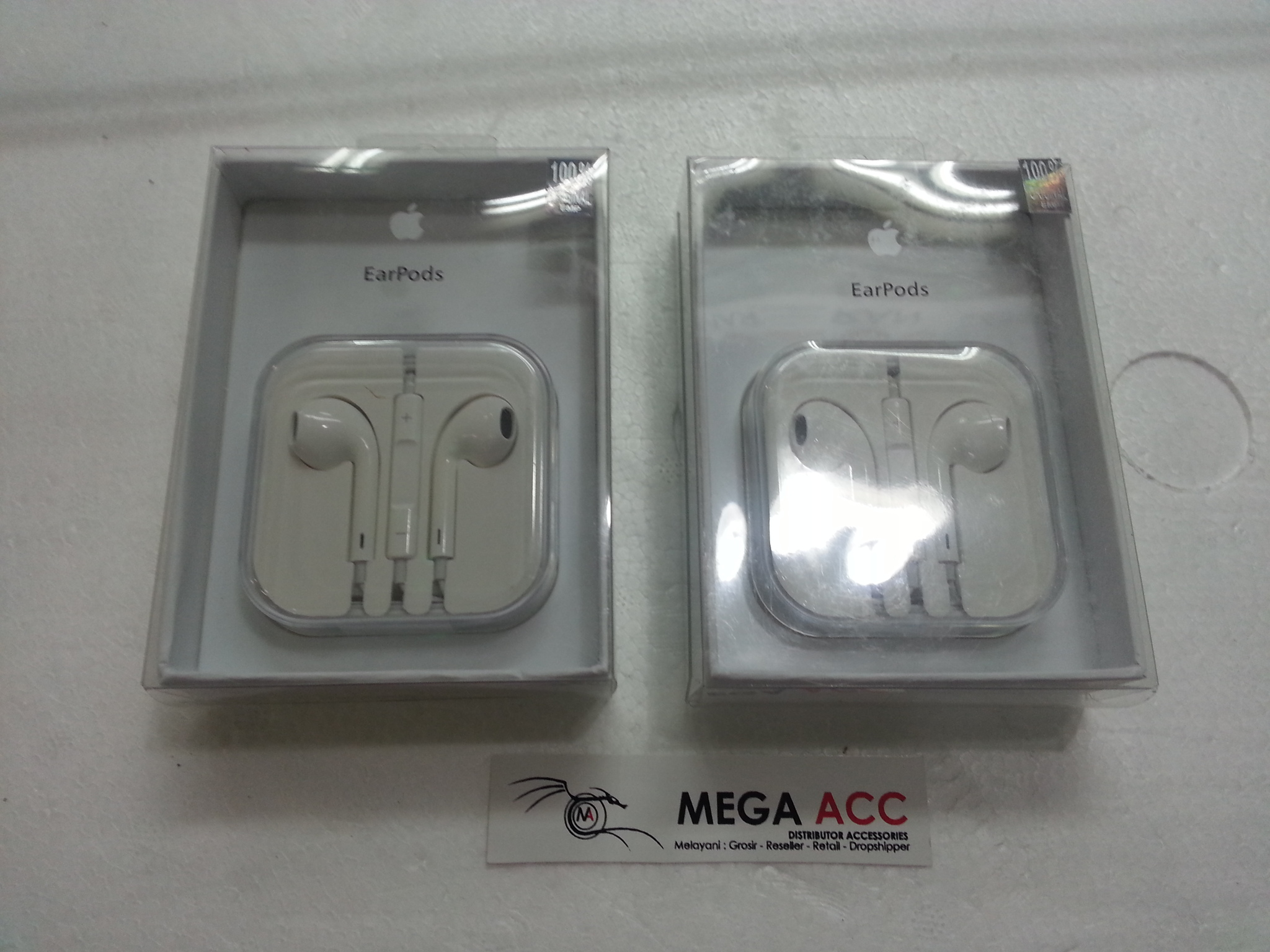 Jual Headset Earphone Apple IPhone 5 5S 6 6 Original 100