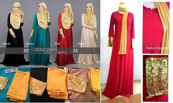Tiara Jubah Hijab Maxi Kaftan bagus
